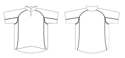 トーナメントシャツ半袖